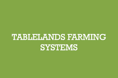 TFS Tablelands Farming System