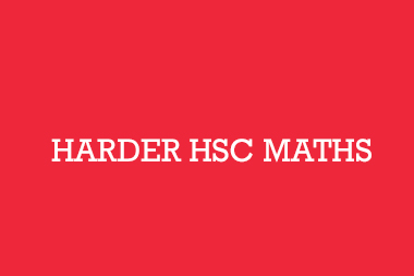 Harder HSC Maths