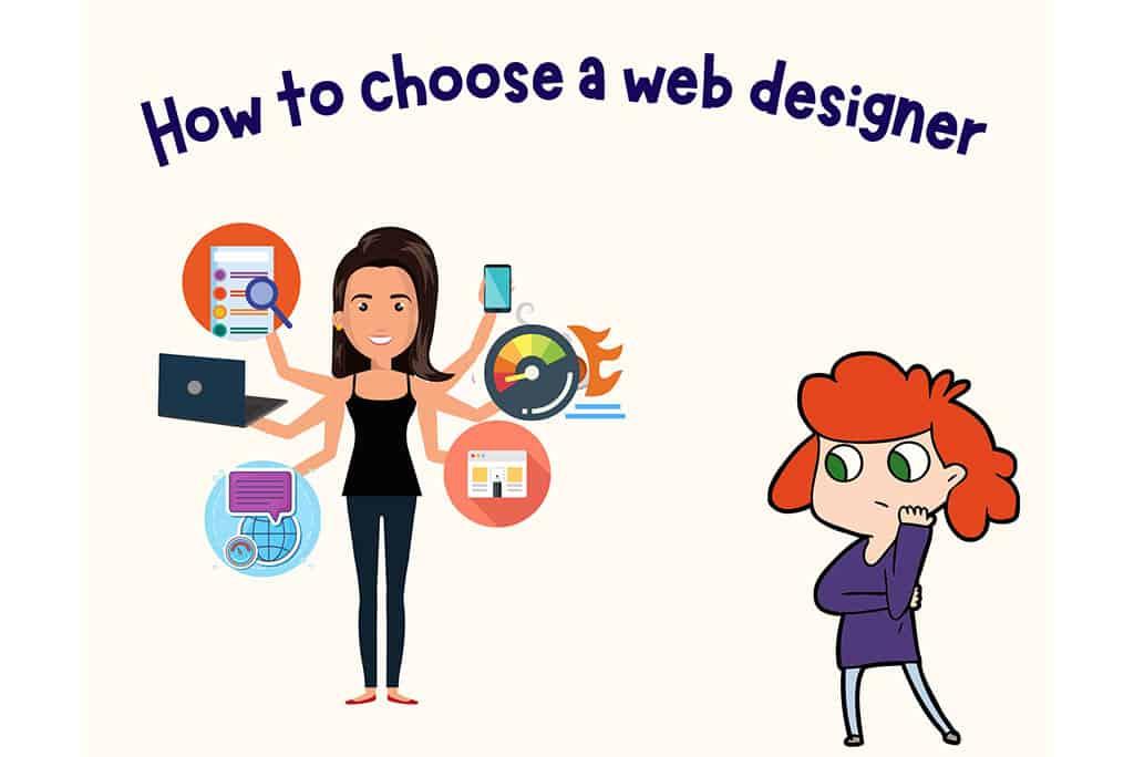 How to select a website designer